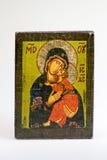 Icono de Eleousa del Griego Imagenes de archivo