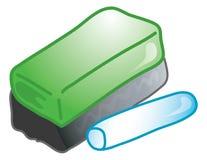 Icono de Eraser_chalk Imagenes de archivo
