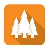 Icono de grupo de los abetos Fotos de archivo libres de regalías