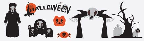 Icono de Halloween Fotografía de archivo libre de regalías