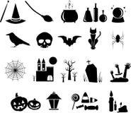Icono de Halloween Imagen de archivo libre de regalías