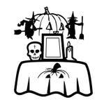 Icono de Halloween Stock de ilustración
