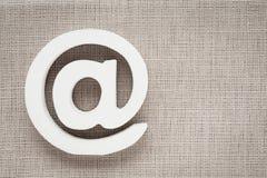 Icono de Internet del símbolo del correo electrónico Foto de archivo