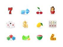 Icono de juego Imagen de archivo libre de regalías