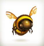 Icono de la abeja Fotos de archivo libres de regalías