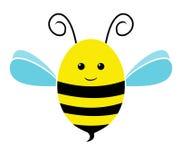 Icono de la abeja ilustración del vector