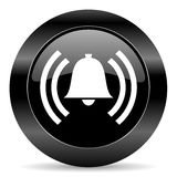 Icono de la alarma Foto de archivo