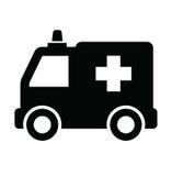 Icono de la ambulancia Fotos de archivo libres de regalías