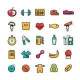Icono de la aptitud Imagen de archivo libre de regalías