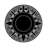 Icono de la aventura de la búsqueda de la sombra Imagen de archivo libre de regalías