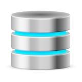 Icono de la base de datos Imagen de archivo libre de regalías