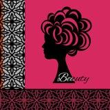 Icono de la belleza Fotografía de archivo
