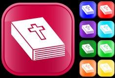 Icono de la biblia Fotografía de archivo libre de regalías