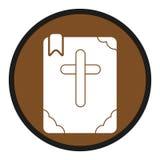 Icono de la biblia Imágenes de archivo libres de regalías