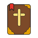 Icono de la biblia Imagen de archivo