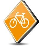 Icono de la bicicleta Fotos de archivo