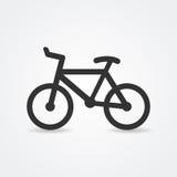 Icono de la bicicleta Foto de archivo libre de regalías