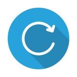 Icono de la burbuja de la recarga stock de ilustración