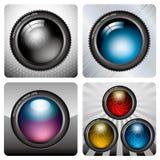 Icono de la cámara Imagen de archivo libre de regalías