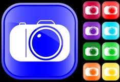 Icono de la cámara Foto de archivo