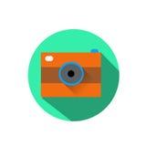 Icono de la cámara Foto de archivo libre de regalías