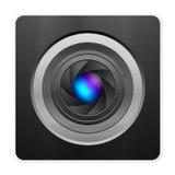 Icono de la cámara de la foto stock de ilustración