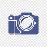 Icono de la cámara del vector Fotografía de archivo libre de regalías