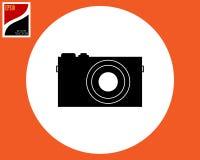 Icono de la cámara de la foto imágenes de archivo libres de regalías