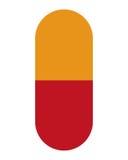 icono de la cápsula de la medicina Foto de archivo