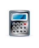Icono de la calculadora Fotografía de archivo libre de regalías