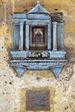 Icono de la calle del estrecho Foto de archivo libre de regalías