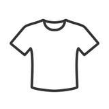 Icono de la camiseta ilustración del vector