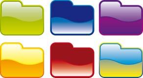 Icono de la carpeta Imagen de archivo libre de regalías