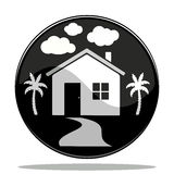 Icono de la casa Fotos de archivo