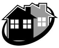 Icono de la casa de la elegancia Fotos de archivo libres de regalías