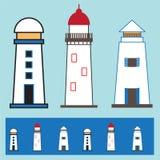 Icono de la casa ligera Imágenes de archivo libres de regalías