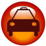 Icono de la casilla de taxi Foto de archivo