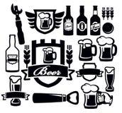 Icono de la cerveza stock de ilustración