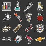 Icono de la ciencia stock de ilustración