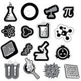Icono de la ciencia Imágenes de archivo libres de regalías