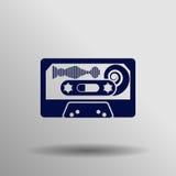 Icono de la cinta de audio Foto de archivo
