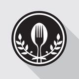 Icono de la comida Fotografía de archivo