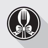 Icono de la comida Imagenes de archivo