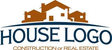 Icono de la construcción/de las propiedades inmobiliarias Fotografía de archivo libre de regalías