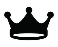 Icono de la corona Foto de archivo