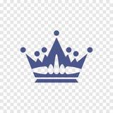 Icono de la corona Imagen de archivo libre de regalías