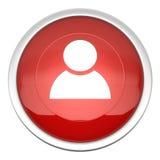 Icono de la cuenta Fotos de archivo libres de regalías