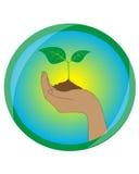 Icono de la ecología ilustración del vector