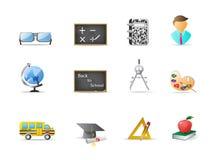 icono de la educación Fotos de archivo libres de regalías