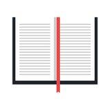 Icono de la educación y del concepto de los libros Fotos de archivo